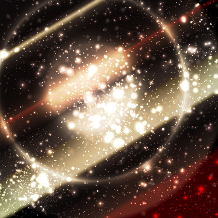 armageddon: Abstract apocalyptic background cosmos space vector web Illustration