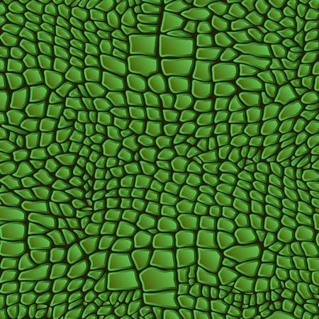 reptile: Leather animal snake textures reptile crocodile pattern background Illustration