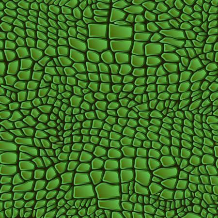jaszczurka: Skóra węża, gadów, zwierząt tekstury tło wzór krokodyla Ilustracja