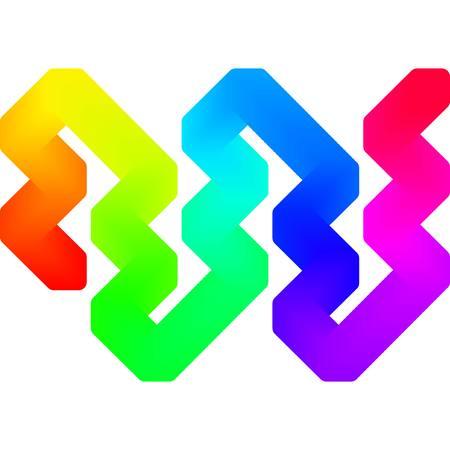 bend: abstraction art backdrop background bend bright color colourful concept contrast curve design Illustration