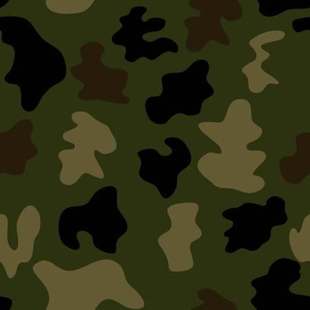 khaki: pattern military style vector khaki background Illustration