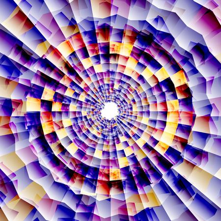 nano: Vector nano texture color