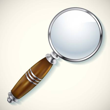 flash point: Magnifying lens Search vectpr