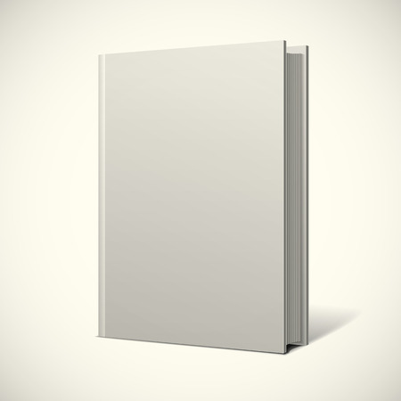 空白の本の表紙  イラスト・ベクター素材