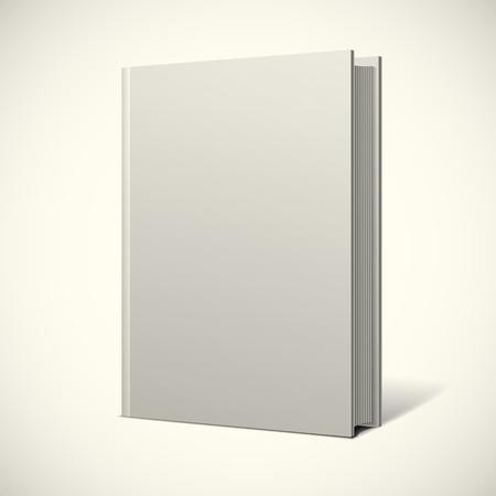 portadas: Cubierta de libro en blanco