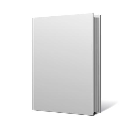 空白のブック カバー