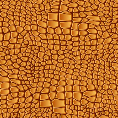 Leather animal snake textures reptile crocodile pattern background Vectores