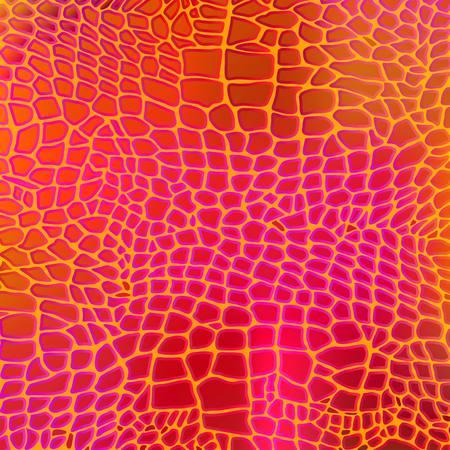 leopard gecko: Leather animal snake textures reptile crocodile pattern background Illustration