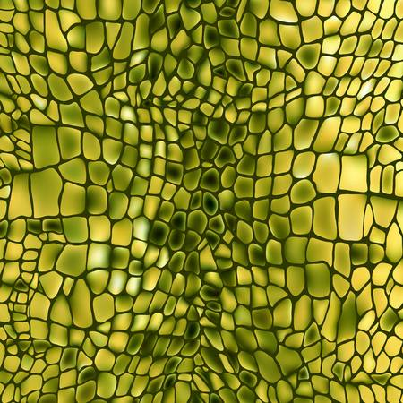 snakeskin: Leather animal snake textures reptile crocodile pattern background Illustration