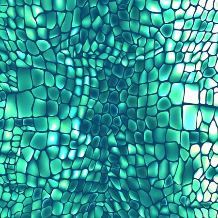 snakeskin: Leather animal snake textures reptile crocodile pattern background Illustration