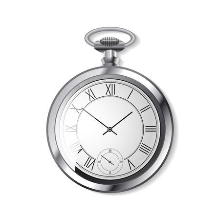 timekeeper: vector alarm arrow clock Illustration