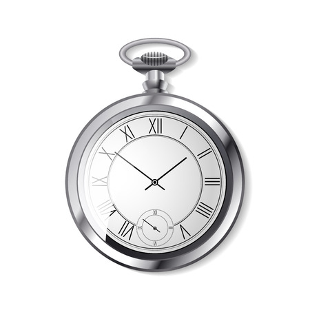 Vector de alarma reloj de la flecha Foto de archivo - 30981314