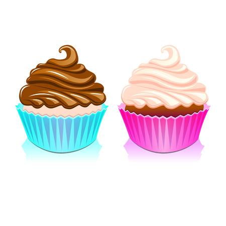 cake birthday party Illustration