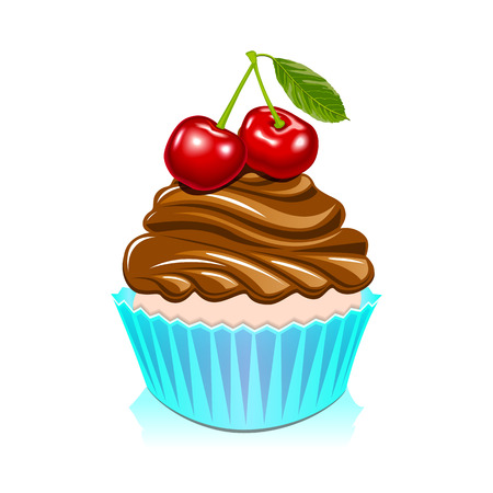 happy birthday cake: Torta del feliz cumplea�os, cumplea�os dulce Vectores