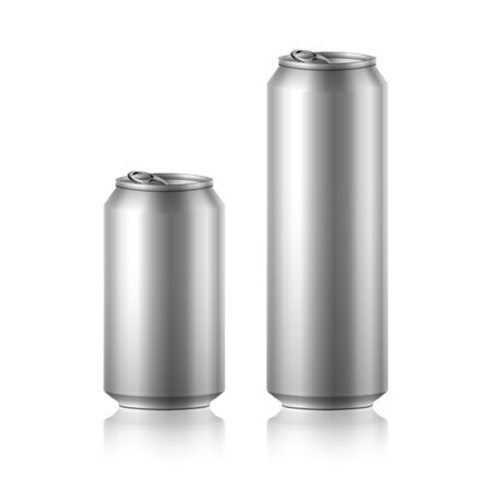 out of use: drink foods cola beer aluminum Illustration