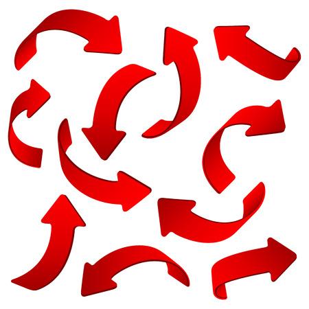 indexes: arrow web Illustration