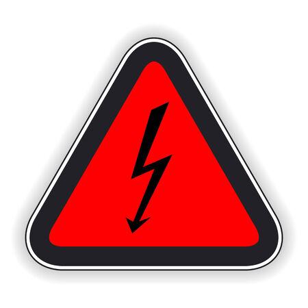 symbol vigilance: Attention sign  Vector illustration  Illustration