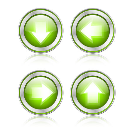 satined: button with download sign Illustration