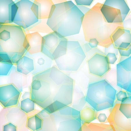 geometric pattern, triangles background, polygonal design  Vector