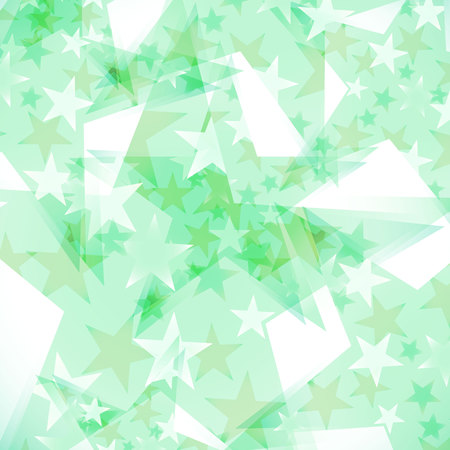 starfall: background decorated stars Illustration
