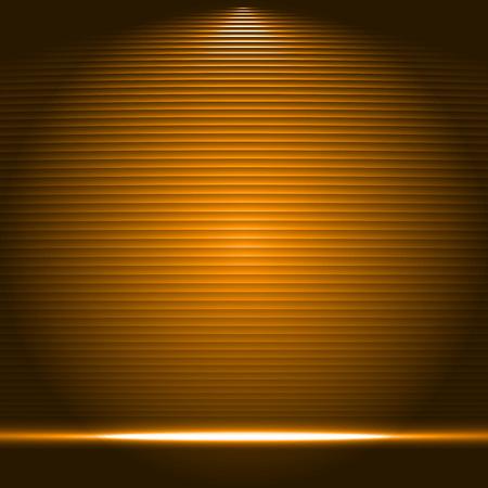 illuminated: Illuminated stage podium vector illustration