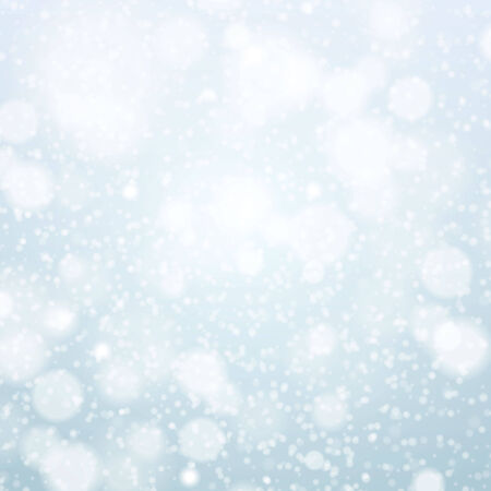 Christmas snowflakes background vector blue light abstract christmas Vector
