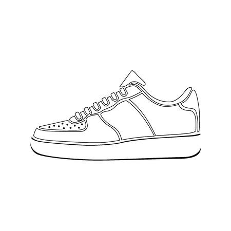 실행 신발 아이콘 SNEAKERS 벡터 스포츠 활성 아이콘 기호