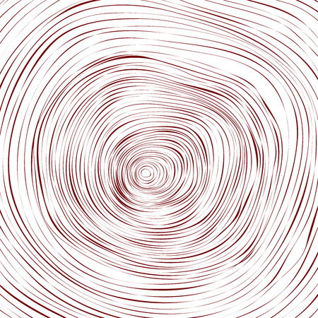 tree rings background and saw cut tree trunk Conceptual graphics Vector