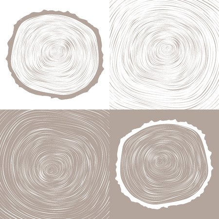 tree rings background and saw cut tree trunk Conceptual graphics