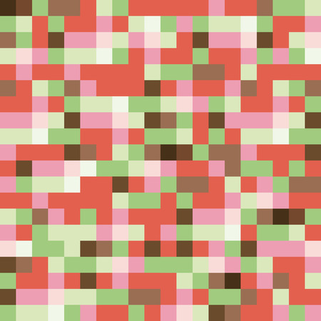 abstract background vector: Colorful Warm Toned Triangles - Abstract Background - Vector EPS10 art Illustration