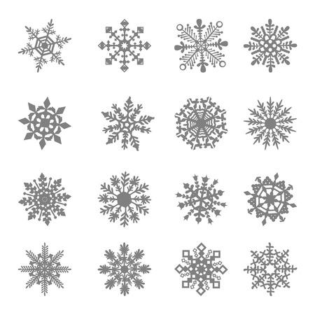 Snowflake star white symbol graphic crystal frozen decoration