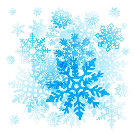 snow flakes: Snowflakes Christmas icons