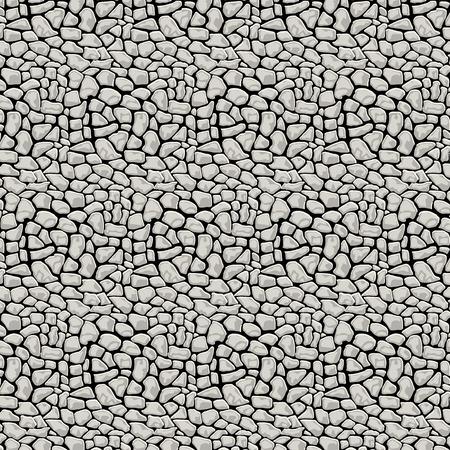 Vector Illustration pattern black and white animal background art Vector