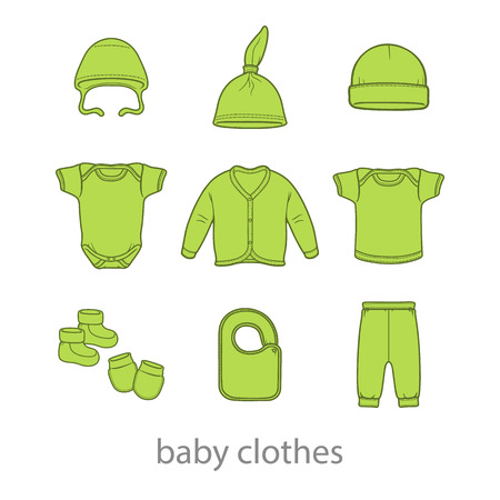 Baby fashion clothing fashion vector shirt illustration design wear art Vector