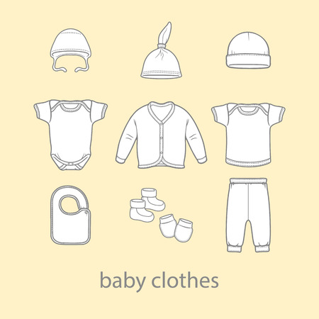 wearing: Baby fashion clothing fashion vector shirt illustration design wear art