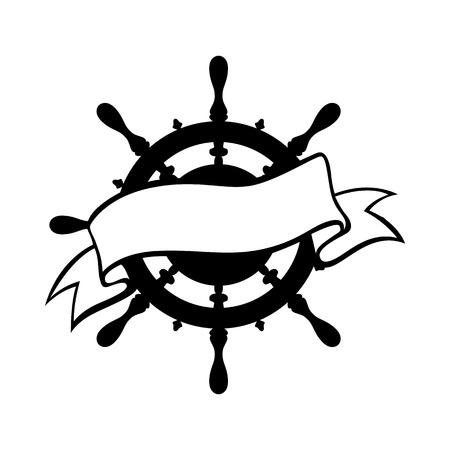 hand art: Anchor icon vector tattoo logo grunge design floral hand  art Illustration