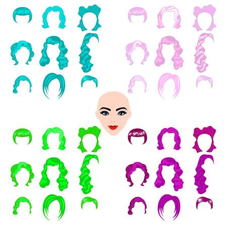 punk hair: Coiffures cheveux femme punk punk pour les femmes