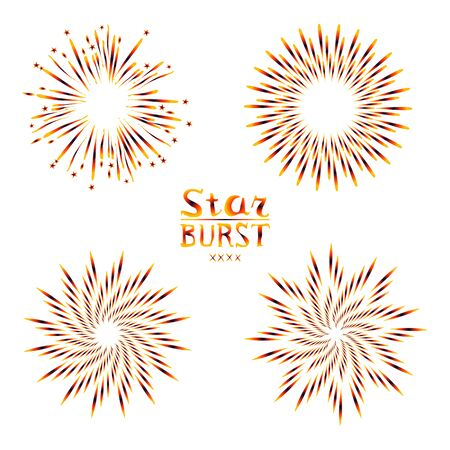 petard: Background design with abstract fireworks and salute