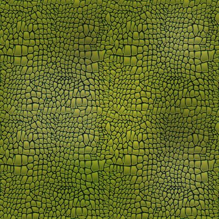 Vector illustratie van alligator huid naadloze kunst krokodil