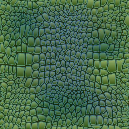 Vector illustration of alligator skin seamless art crocodile 일러스트