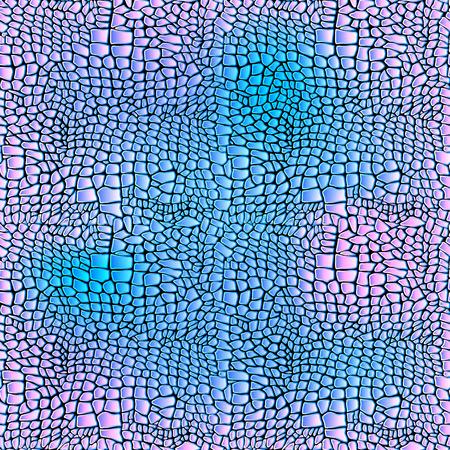 ワニ皮シームレスなアート ワニのベクトル イラスト
