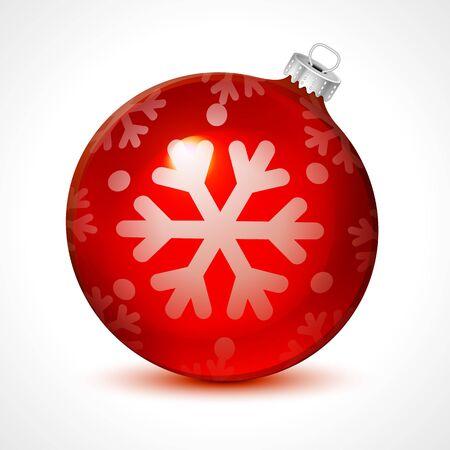 クリスマス ボールと背景。Eps 10 アート  イラスト・ベクター素材