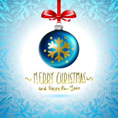 Christmas ball, Christmas tree decorations. vector. art