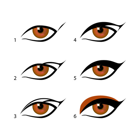 eyeliners set Winged eyeliner is a whole lot easier with this trick. Make Sense Of Makeup art