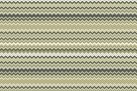 grange: Seamless vintage pattern of thin zigzag (chevron) on grange paper