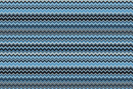 Blue chevrons seamless pattern background retro vintage design art