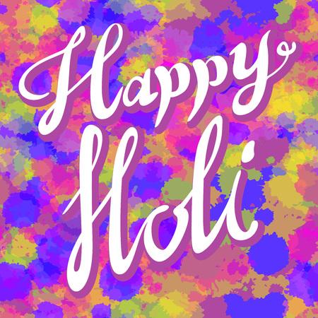 pamphlet: Creative Flyer, Banner or Pamphlet design for Indian Festival of Colours, Happy Holi celebration. art