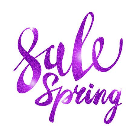 glitz: Spring Sale. purple, pink, violet inscription paint. glitz, glamor, light, shine, discounts, art