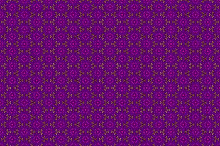 brocade: Vector ornate border in Eastern style. Gorgeous element for design, place for text. Ornamental vintage pattern for wedding invitations and greeting cards. Traditional gold decor on purple background. art