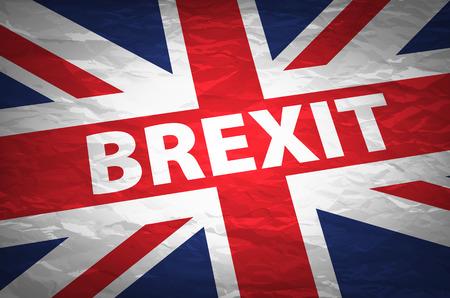 european euro: United Kingdom exit from europe relative image. Brexit named politic process. Referendum theme art Illustration